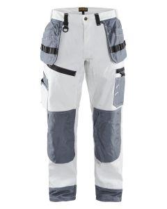X1500 Painter Trouser White/Grey C52   Tikkurila   Buy Paint Online  151012101094C52 151012101094C52_1_X1500 Painter Trouser White Grey.jpg