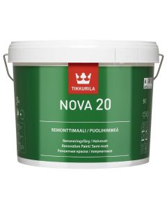 Nova 20 - A | Tikkurila | Buy Paint Online| 17V 6001 0160|17V 6001 0160_2_Nova_20_remonttimaali_9L.jpg