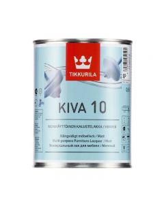 Kiva 10 - Matt Furniture Lacquer | Tikkurila | Buy Paint Online| 476 6404 0130|Tikkurila_Kiva_10_Furniture_Laquer_0,9L.jpg