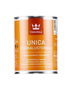 Unica Semi-Gloss Enamel | Tikkurila | Buy Paint Online| 525 6001 0160|525 6001 0160_1_Unica_Ulkokalustemaali_0.9L_1.jpg