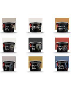 Colour Chips   Endangered Colours Collection   Tikkurila