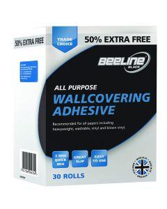 Beeline 20 Roll +50%(36 Pint) All Purpose Adhesive | Tikkurila | Buy Paint Online| HBDPFN0T|HBDPFN0T_All Purpose Wall Adhesive 30 Rolls-XL.jpg