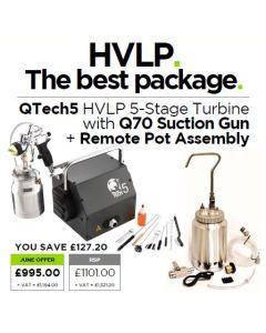 Q-Tech 5 Plus  (110v UK - Suction) - package | Tikkurila | Buy Paint Online| 10-1008-PACKAGE|HVLP.JPG