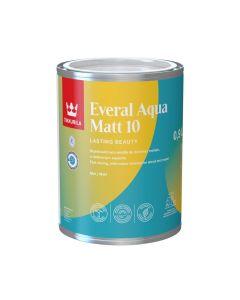 Everal Aqua Matt [10] | Tikkurila | Buy Paint Online| C933 9051 10|C933 9051 10_1_Tikkurila Everal Aqua Matt 10 0,9L.jpg