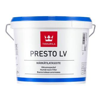 Presto LV - Humid Room Filler | Tikkurila | Buy Paint Online| 001 6533 0060|001 6533 0060_1_Presto LV_3L.jpg