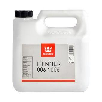 Thinner 1006 | Tikkurila | Buy Paint Online| 006 1006 0030|006 1006 0030_Thinner 1006_1_tikkurila_thinner_006_1006_3l_2.jpg