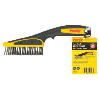 "Purdy - Wire Brush Short Handle 11"" | Tikkurila | Buy Paint Online| 140910100|140910100.jpg"