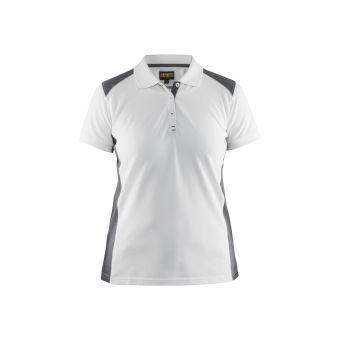 Ladies Polo Shirt White XL | Tikkurila | Buy Paint Online| 339010501000XL|339010501000XL_Ladies Polo Shirt White_Front.jpg