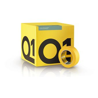 "Q1® Precision Line Masking Tape 2"" (50mm x 50m) | Tikkurila | Buy Paint Online| PPL150|PPL150_1_Q1┬« Precision Line Masking Tape Box_38.jpg"