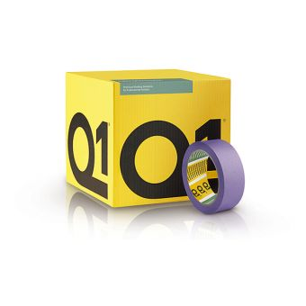 "Q1® Delicate Surface Masking Tape 2"" (50mm x 50m) | Tikkurila | Buy Paint Online| Q1DS150|Q1DS150_1_Scatola_Nastro38mm.jpg"