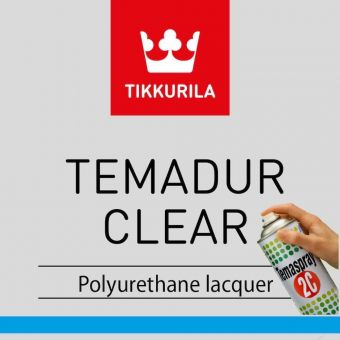 Temaspray - Temadur Clear | Tikkurila | Buy Paint Online| A00 1002 0009 005|Temaspray - Temadur Clear.JPG