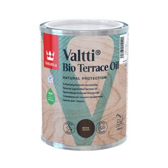 Valtti Bio Terrace Oil | Tikkurila | Buy Paint Online| 710011164|tikkurila_valtti_bio_terraceoil_brown_0,9L.jpg