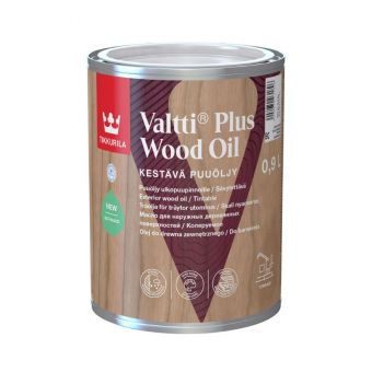 Valtti Plus Wood Oil | Tikkurila | Buy Paint Online | 256 0070 0110